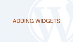 WordPress How-To Videos: Part 12 - Adding Widgets