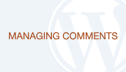 WordPress How-To Videos: Managing Comments | TrendMedia San Francisco